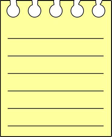 Regular Ruled Writing Paper, Blue Letter Print Paper
