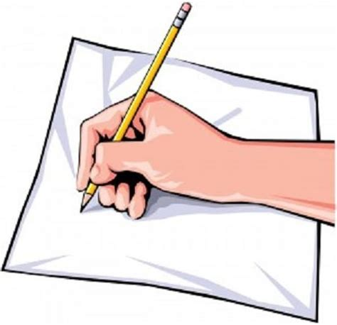 Blank writing composition paper